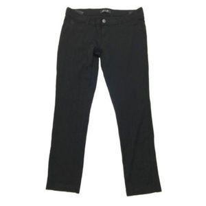 Seven7 Jeans Black Mid Rise 5 Pocket Ponte Stretch